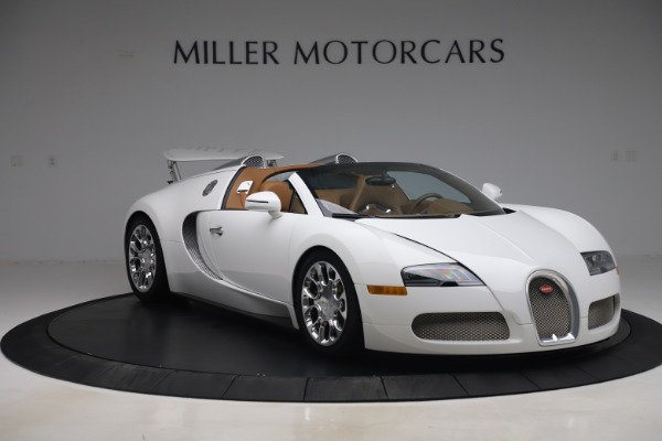 Used 2011 Bugatti Veyron 16.4 Grand Sport for sale Call for price at Bentley Greenwich in Greenwich CT 06830 11