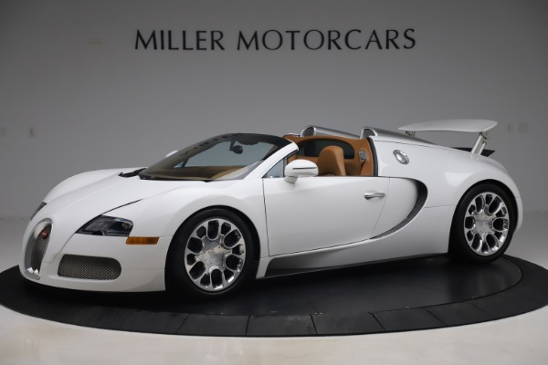 Used 2011 Bugatti Veyron 16.4 Grand Sport for sale Call for price at Bentley Greenwich in Greenwich CT 06830 2