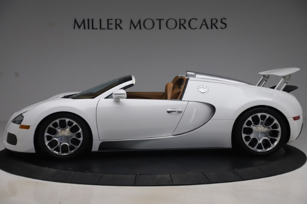 Used 2011 Bugatti Veyron 16.4 Grand Sport for sale Call for price at Bentley Greenwich in Greenwich CT 06830 3