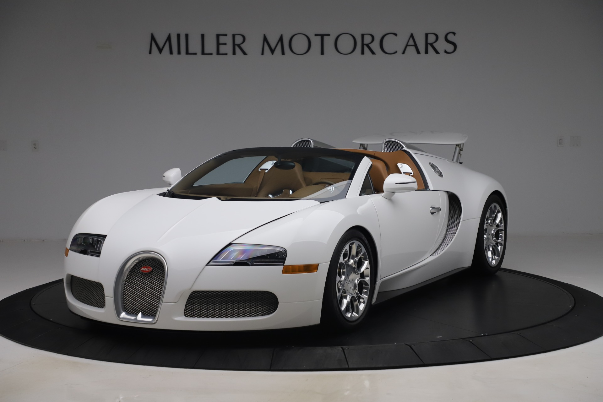 Used 2011 Bugatti Veyron 16.4 Grand Sport for sale Call for price at Bentley Greenwich in Greenwich CT 06830 1