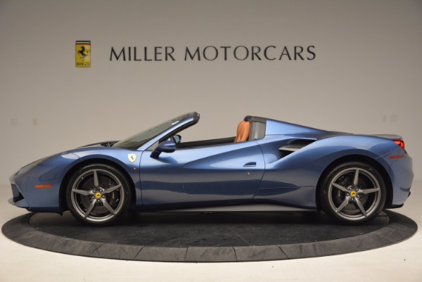 Used 2017 Ferrari 488 Spider for sale Sold at Bentley Greenwich in Greenwich CT 06830 3