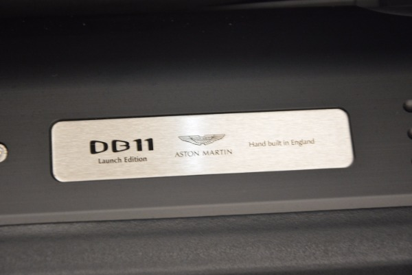 Used 2017 Aston Martin DB11 for sale Sold at Bentley Greenwich in Greenwich CT 06830 21