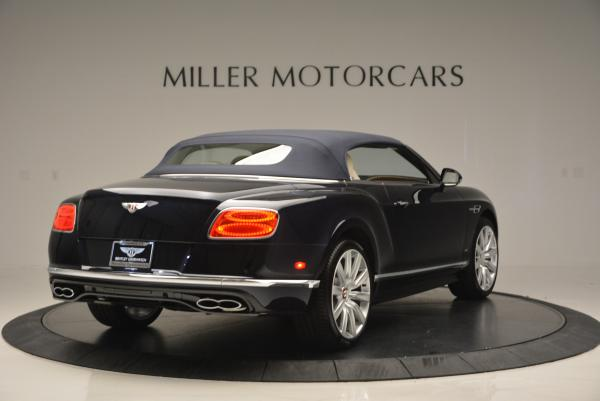 Used 2016 Bentley Continental GT V8 S Convertible for sale Sold at Bentley Greenwich in Greenwich CT 06830 19