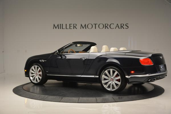 Used 2016 Bentley Continental GT V8 S Convertible for sale Sold at Bentley Greenwich in Greenwich CT 06830 4
