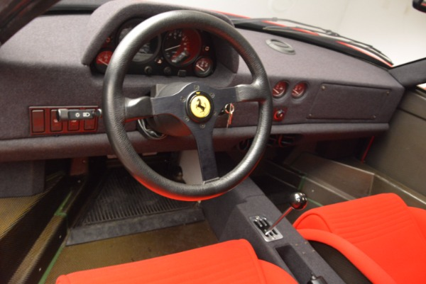 Used 1992 Ferrari F40 for sale Sold at Bentley Greenwich in Greenwich CT 06830 16