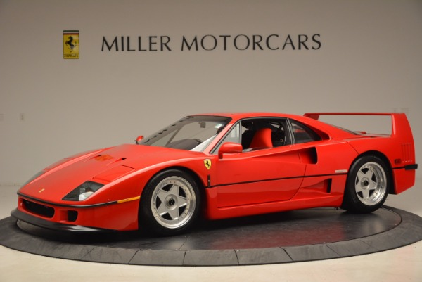 Used 1992 Ferrari F40 for sale Sold at Bentley Greenwich in Greenwich CT 06830 2