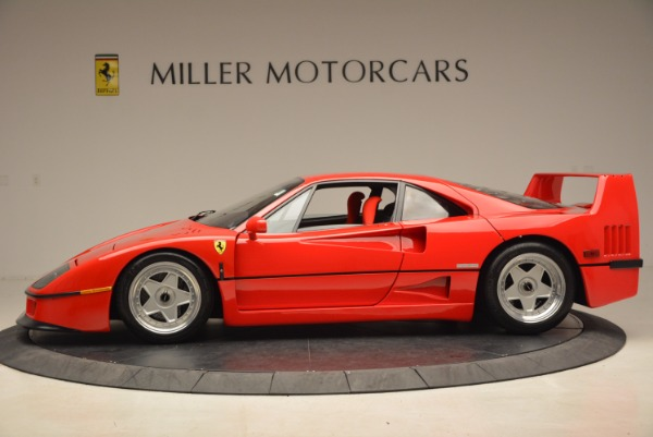 Used 1992 Ferrari F40 for sale Sold at Bentley Greenwich in Greenwich CT 06830 3