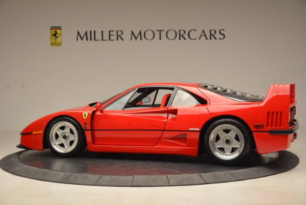 Used 1992 Ferrari F40 for sale Sold at Bentley Greenwich in Greenwich CT 06830 4