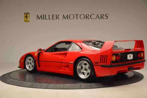 Used 1992 Ferrari F40 for sale Sold at Bentley Greenwich in Greenwich CT 06830 5