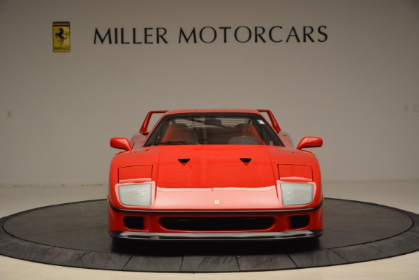 Used 1992 Ferrari F40 for sale Sold at Bentley Greenwich in Greenwich CT 06830 6