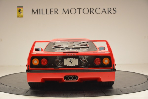 Used 1992 Ferrari F40 for sale Sold at Bentley Greenwich in Greenwich CT 06830 7