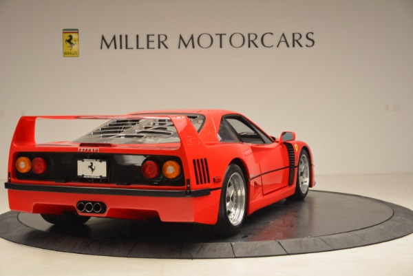 Used 1992 Ferrari F40 for sale Sold at Bentley Greenwich in Greenwich CT 06830 8