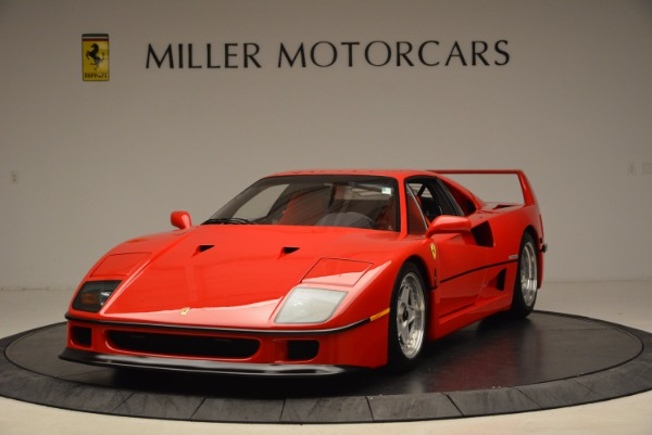 Used 1992 Ferrari F40 for sale Sold at Bentley Greenwich in Greenwich CT 06830 1