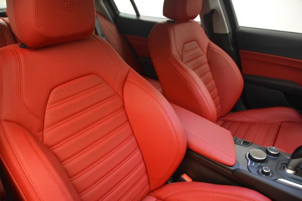New 2017 Alfa Romeo Giulia Ti Sport Q4 for sale Sold at Bentley Greenwich in Greenwich CT 06830 21