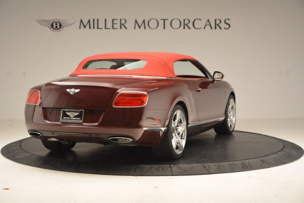 Used 2014 Bentley Continental GT W12 for sale Sold at Bentley Greenwich in Greenwich CT 06830 20
