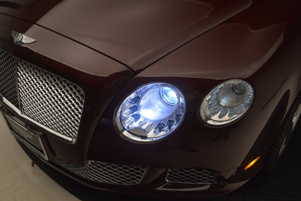 Used 2014 Bentley Continental GT W12 for sale Sold at Bentley Greenwich in Greenwich CT 06830 27