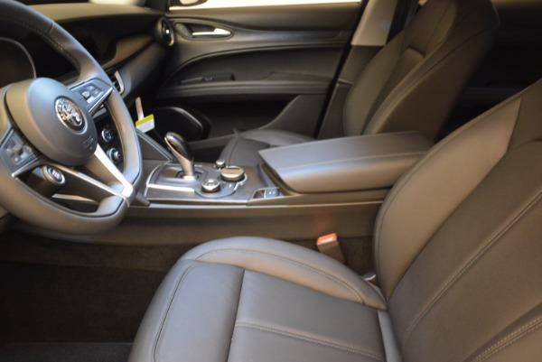 New 2018 Alfa Romeo Stelvio Q4 for sale Sold at Bentley Greenwich in Greenwich CT 06830 14