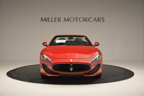 New 2017 Maserati GranTurismo Cab Sport for sale Sold at Bentley Greenwich in Greenwich CT 06830 12