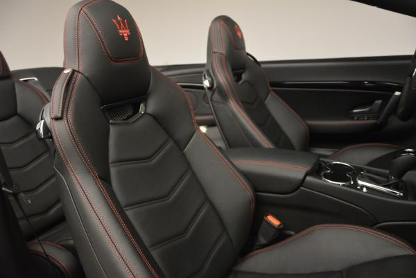 New 2017 Maserati GranTurismo Cab Sport for sale Sold at Bentley Greenwich in Greenwich CT 06830 27