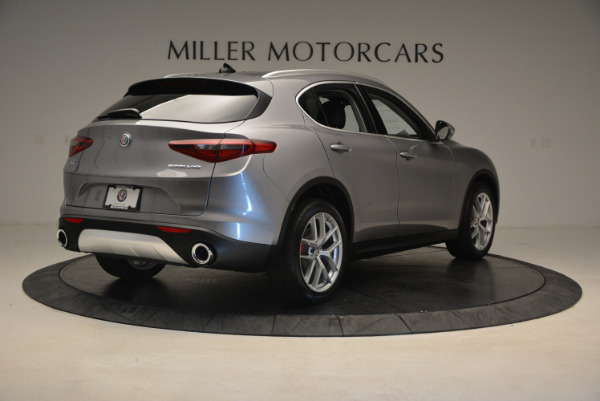 New 2018 Alfa Romeo Stelvio Q4 for sale Sold at Bentley Greenwich in Greenwich CT 06830 7