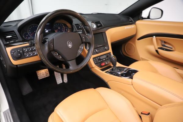 Used 2017 Maserati GranTurismo Convertible Sport for sale $84,900 at Bentley Greenwich in Greenwich CT 06830 23