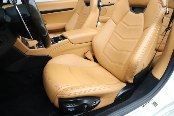 New 2017 Maserati GranTurismo Convertible Sport for sale Sold at Bentley Greenwich in Greenwich CT 06830 25