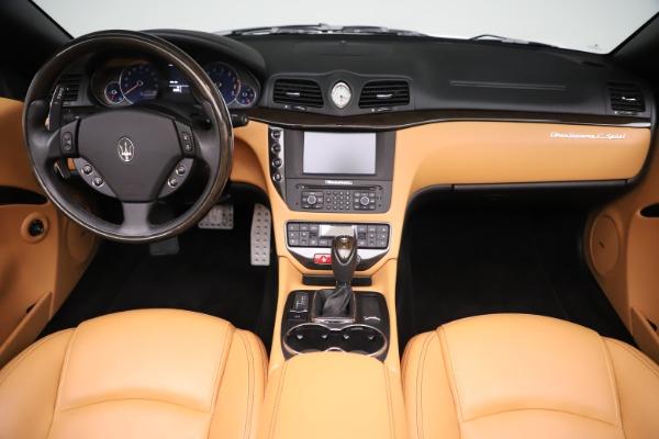 New 2017 Maserati GranTurismo Convertible Sport for sale Sold at Bentley Greenwich in Greenwich CT 06830 26