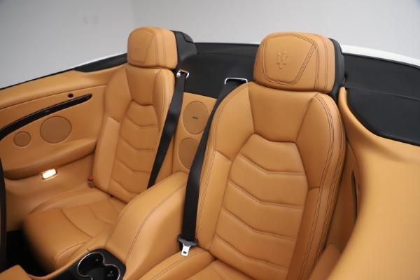 New 2017 Maserati GranTurismo Convertible Sport for sale Sold at Bentley Greenwich in Greenwich CT 06830 28