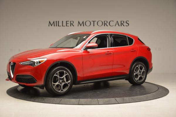 New 2018 Alfa Romeo Stelvio Q4 for sale Sold at Bentley Greenwich in Greenwich CT 06830 2