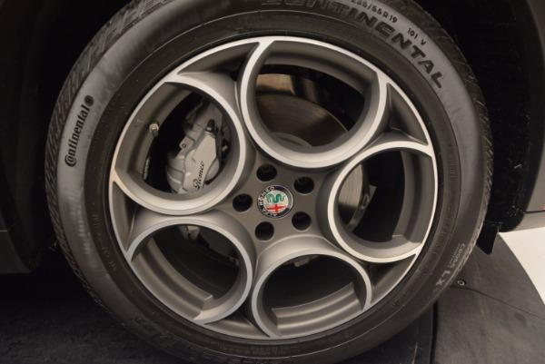 New 2018 Alfa Romeo Stelvio Q4 for sale Sold at Bentley Greenwich in Greenwich CT 06830 25