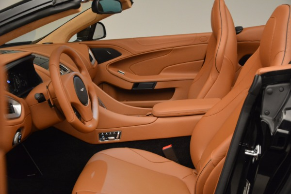 New 2018 Aston Martin Vanquish S Volante for sale Sold at Bentley Greenwich in Greenwich CT 06830 22