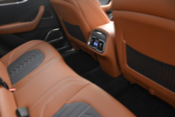 New 2018 Maserati Levante Q4 GranLusso for sale Sold at Bentley Greenwich in Greenwich CT 06830 20