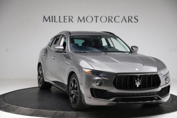 Used 2018 Maserati Levante SQ4 GranSport for sale $55,900 at Bentley Greenwich in Greenwich CT 06830 11