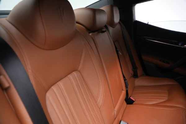 Used 2018 Maserati Ghibli S Q4 GranLusso for sale $56,900 at Bentley Greenwich in Greenwich CT 06830 25