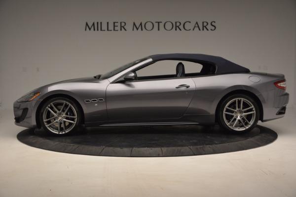 New 2016 Maserati GranTurismo Convertible Sport for sale Sold at Bentley Greenwich in Greenwich CT 06830 12