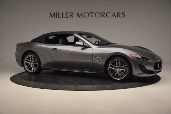 New 2016 Maserati GranTurismo Convertible Sport for sale Sold at Bentley Greenwich in Greenwich CT 06830 15