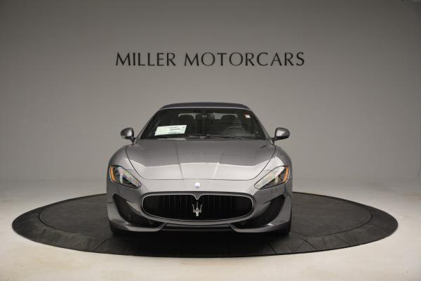New 2016 Maserati GranTurismo Convertible Sport for sale Sold at Bentley Greenwich in Greenwich CT 06830 17