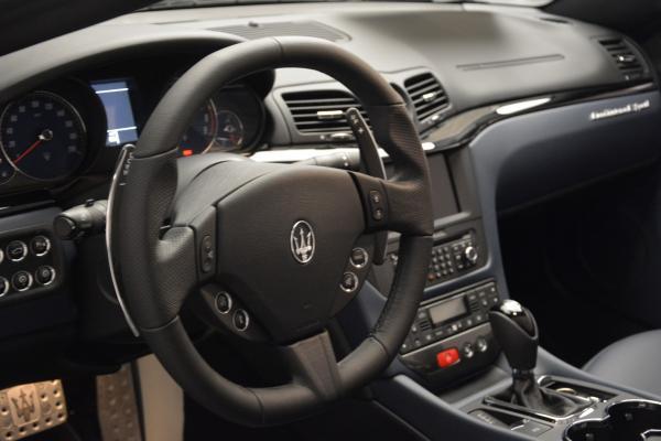 New 2016 Maserati GranTurismo Convertible Sport for sale Sold at Bentley Greenwich in Greenwich CT 06830 18