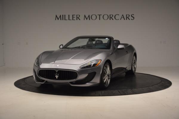New 2016 Maserati GranTurismo Convertible Sport for sale Sold at Bentley Greenwich in Greenwich CT 06830 2