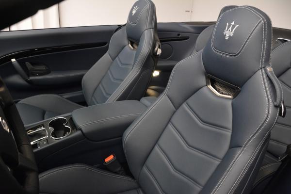New 2016 Maserati GranTurismo Convertible Sport for sale Sold at Bentley Greenwich in Greenwich CT 06830 22