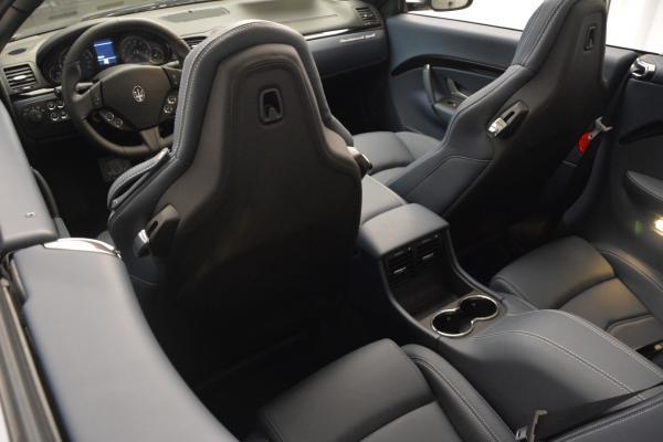 New 2016 Maserati GranTurismo Convertible Sport for sale Sold at Bentley Greenwich in Greenwich CT 06830 23