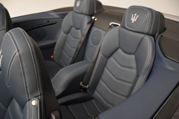 New 2016 Maserati GranTurismo Convertible Sport for sale Sold at Bentley Greenwich in Greenwich CT 06830 25