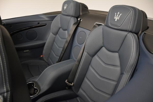 New 2016 Maserati GranTurismo Convertible Sport for sale Sold at Bentley Greenwich in Greenwich CT 06830 26