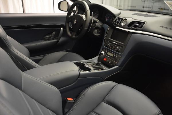 New 2016 Maserati GranTurismo Convertible Sport for sale Sold at Bentley Greenwich in Greenwich CT 06830 27
