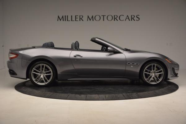 New 2016 Maserati GranTurismo Convertible Sport for sale Sold at Bentley Greenwich in Greenwich CT 06830 6