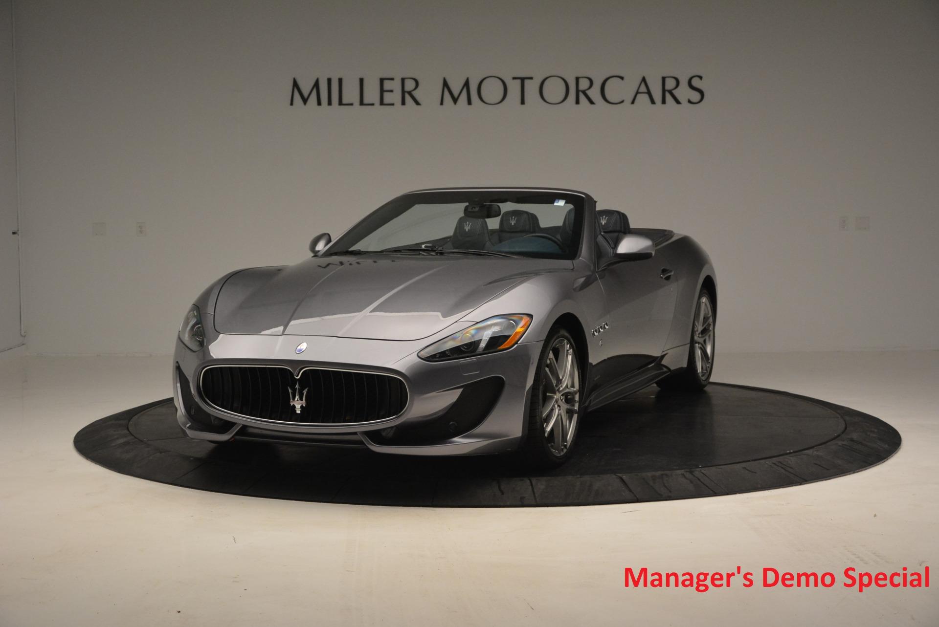 New 2016 Maserati GranTurismo Convertible Sport for sale Sold at Bentley Greenwich in Greenwich CT 06830 1