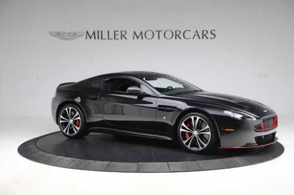 Used 2017 Aston Martin V12 Vantage S Coupe for sale $179,900 at Bentley Greenwich in Greenwich CT 06830 9