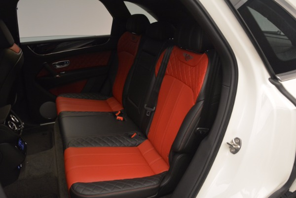Used 2018 Bentley Bentayga Onyx for sale Call for price at Bentley Greenwich in Greenwich CT 06830 23