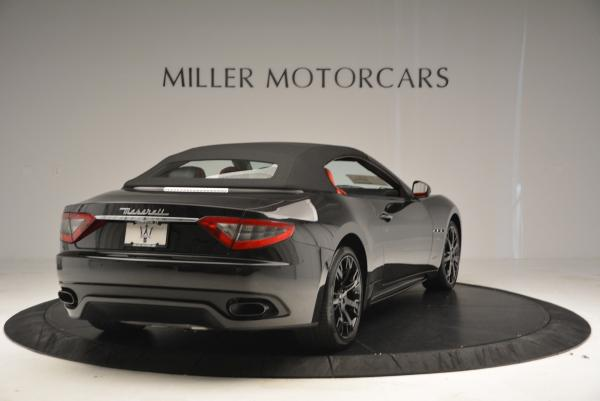New 2016 Maserati GranTurismo Convertible Sport for sale Sold at Bentley Greenwich in Greenwich CT 06830 14