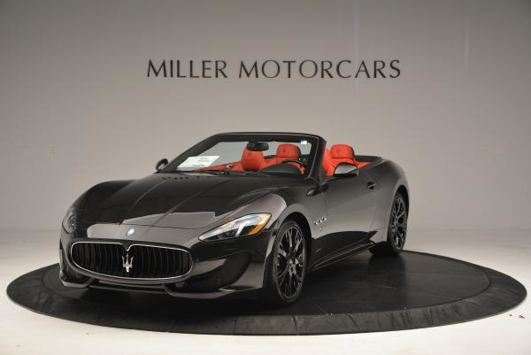 New 2016 Maserati GranTurismo Convertible Sport for sale Sold at Bentley Greenwich in Greenwich CT 06830 1